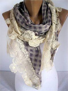Big SALE 9.90 USD  Scarf Elegant scarf  Fashion by MebaDesign, $9.90