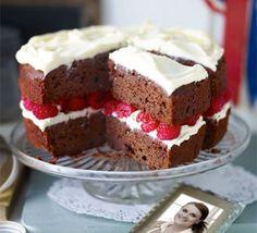 chocolate raspberry cake   Recipe .. Jo Wheatley's Raspberry Red Velvet Cake Jo Wheatley winner ...