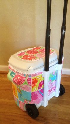 Lilly PUlitzer inspired cooler