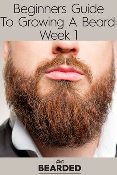 Beginners Guide To Growing A Beard: Week 1 | Tips To Grow a Beard Fast | Bearded…