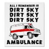 dirt bike... dirt, sky, dirt, sky..