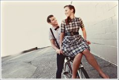 Image detail for -... vintage bike – we love this engagement photoshoot by Brandon Patoc
