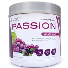 Enhance your energy and enjoy improved metabolism with this natural, low-calorie energy drink. Passion™ features Thermo-G™, and exclusive ingredient which naturally delivers energy over a prolonged period.