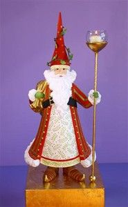 Nicholas Santa Candle Holder is in stock. Place your order now and dress up your home from the holidays. Perfect Christmas party gift! www.coastalgiftsanddecor.com