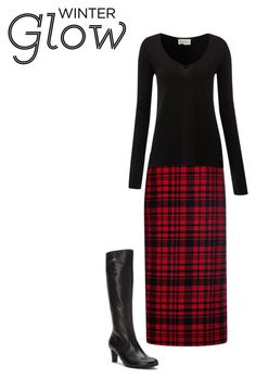 """Winter Outfit"" by angie-rhoton on Polyvore featuring N°21, American Vintage and Gabor"