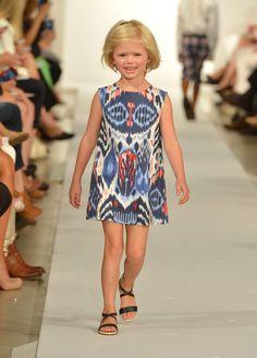 Oscar de la Renta Debuts Full Childrenswear Collection at New York Fashion Week Show