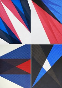 Creating beautiful works of art doesn't require expensive supplies. Case in point? Düsseldorf-based artist Sebastian Wickeroth diligently layers line upon line of regular old felt-tip marker to create his wonderfully abstract works of colour an ...