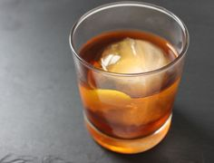Pu-erh Old Fashioned | 26 Elegant Tea Cocktails That Will Quench Your Thirst