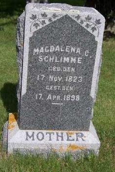 SCHLIMME, MAGDALENA C. - Lyon County, Iowa | MAGDALENA C. SCHLIMME