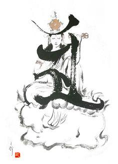 Boy Drawing, Painting & Drawing, 17th Century Art, Gautama Buddha, Old Cemeteries, Buddha Art, Angel Statues, Guanyin, Sacred Art