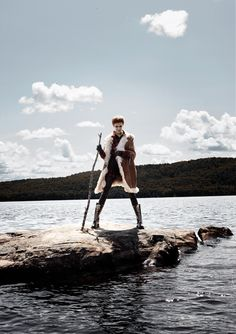 Editorial : Photographer: Gabor Jurina , Styling: Susie Sheffman, Editorial: The Girls' Guide to Hunting & Fishing