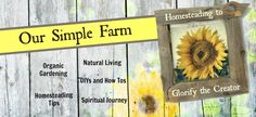 Our Simple Farm -  Replacing the grocery store challenge. This website has instructions for determining how much food to grow to meet your family's needs.