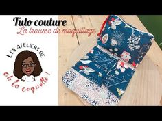 [TUTO COUTURE] La trousse de maquillage - YouTube Couture Sewing, Sewing Patterns, Patches, Crochet, Knitting, Fabric, Bags, Macbook Bag, Video Tutorials