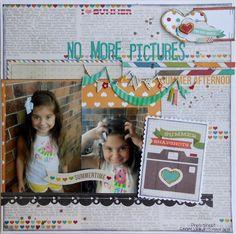 No More Pictures ~My Creative Scrapbook DT~ - Scrapbook.com