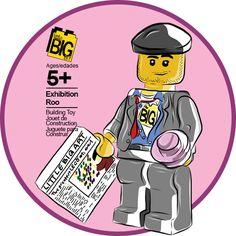 Little Big Art | Exhibition Roo LEGO Minifigure