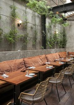 RESTAURANT | Restaurante Arturito, Exterior seating and planting. #Seating #Planting [ok]