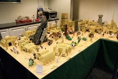 the incomparable mos eisley set that was featured in LEGO Star Wars: The Visual Dictionary