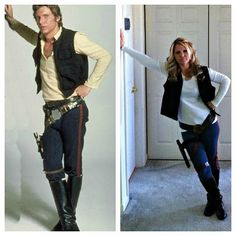 Okay, all of the Han Solo costumes on the internet SUCK, so this is the real…