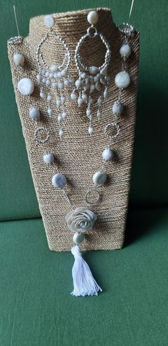 Ps, Pearl Necklace, Pearls, Jewelry, Polymer Clay, Art, Jewellery Making, String Of Pearls