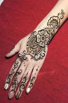 beautiful and latest women mehndi designs wedding Unique Mehndi Designs, Wedding Mehndi Designs, Henna Designs, Henna Mehndi, Mehendi, Henna Patterns, Temporary Tattoo, Tattoos, Maya