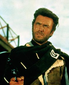 Clint Eastwood in For a Fistfull of Dollars
