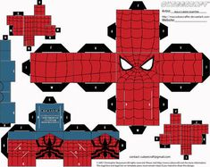 Papercraft Templates favourites by MysterMDD on DeviantArt Paper Toys, Paper Crafts, Preston Style, Avengers, Jumping Jacks, Paper Models, Printable Paper, Dragon Ball, Marvel Comics