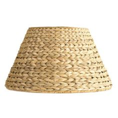 "Crafty Texas Girls: ""Ballard Knock-off"" Sea Grass Lamp Shade"