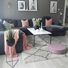 Most Popular Small Modern Living Room Design Id. - - 34 Most Popular Small Modern Living Room Design Id… – Most Popular Small Modern Living Room Design Id. - - 34 Most Popular Small Modern Living Room Design Id… – - Grey Living Room Sets, Home Living Room, Apartment Living, Modern Living Rooms, Bedroom Modern, Modern Sofa, Living Room Ideas Pink And Grey, Living Room Ideas For Small Spaces, Living Room Decor Grey Couch
