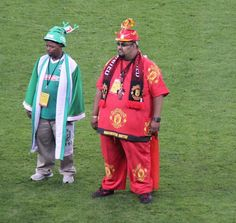 Man United vs. Amazulu FC (picture by @Coolidge_)