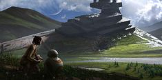 ArtStation - Force Awakens Fan Art, Jonathan Guzi