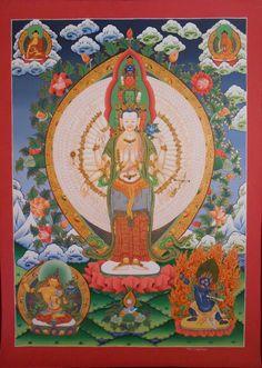 Avalokiteshvara, bodhisvitta of compassion (Quan yin)
