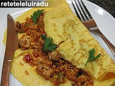 Omleta cu orez Tacos, Mexican, Ethnic Recipes, Food, Eten, Meals, Diet