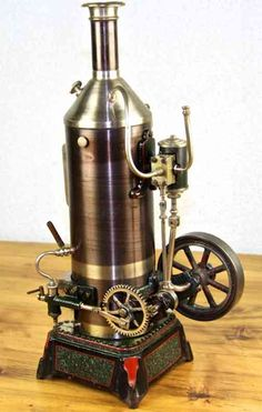 Falk Steam-Toys-Vertical-Steam-Engine