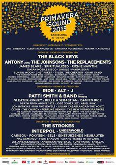 Primavera Sound music festival in Barcelona, Spain and Porto, Portugal.