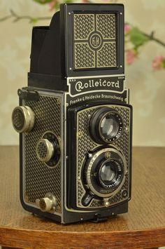 Superb! 1934 Rolleicord, the desirable ARTDECO model CLA'd #Rollei