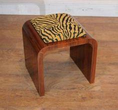Art Deco Stool Rosewood Furniture Stools Seat