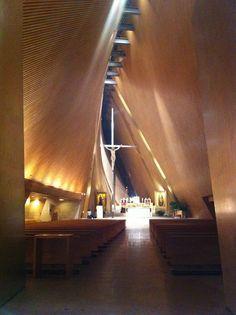 Iglesia San Jose Maria Escrivá /Saad acústica / Sordo Madaleno Arquitectos  - Santa Fé,Ciudad de México
