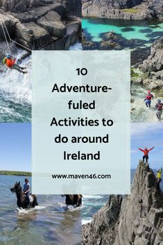 Discover ten adventurous activities to do in Ireland Adventure Activities, Activities To Do, Stuff To Do, Things To Do, Abseiling, Ireland Travel, Surfing, Things To Doodle, Things To Make