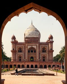 Safdarjung's Tomb, New Delhi, India.