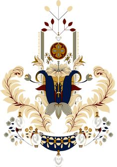 Islamic Motifs, Textile Prints, Textile Design, Textiles, Border Embroidery Designs, Baroque Design, Blue Colour Palette, Islamic Art Calligraphy, Ornaments Design