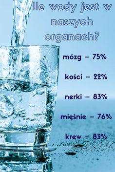 Woda jest podstawą życia. Rola wody w organizmie to między innymi regulacja ciśnienia tętniczego, utrzymywanie odpowiedniej temperatury ciała, oczyszczanie organizmu z toksyn.