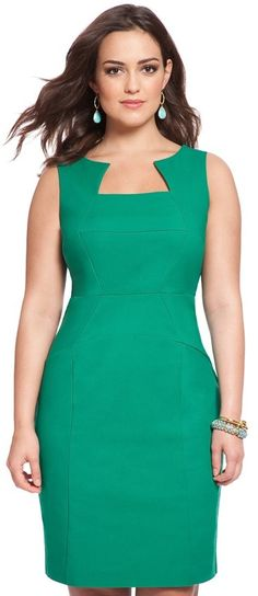 Plus Size Brandi Sheath Dress