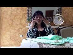 COLCHITA O MANTITA DULCE MENTA - agujas y gancho - Tejiendo con LAURA CEPEDA - YouTube
