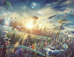 futurama  #evatornadoblog #ideas #mycollection #futurism #futuristic