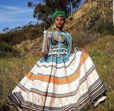African Formal Dress, African Wedding Dress, African Dress, South African Traditional Dresses, Traditional Fashion, Traditional Outfits, African Print Clothing, African Print Dresses, African Fashion Dresses