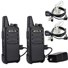 Retevis RT22 Two Way Radio UHF 400-480MHz 16 CH VOX Walkie Talkies(2 Pack) and Covert Air Acoustic Earpiece (2 Pack)   http://huntinggearsuperstore.com/product/retevis-rt22-two-way-radio-uhf-400-480mhz-16-ch-vox-walkie-talkies2-pack-and-covert-air-acoustic-earpiece-2-pack/