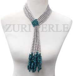 Zuri Perle - ZPSIL402 - Handmade Pearl Turquoise  Beads Nigerian Wedding Jewelry, $380.00 (http://www.zuriperle.com/new-arrivals/zpsil402-handmade-pearl-turquoise-beads-nigerian-wedding-jewelry.html)