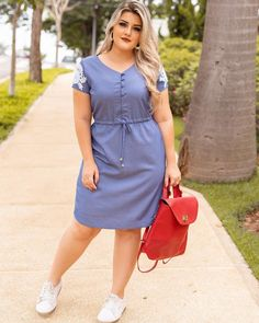 plus size outfits for work womens clothes Plus Size Summer Fashion, Plus Size Fashion For Women, Plus Size Clothing Stores, Plus Size Womens Clothing, Trendy Clothing, Women's Fashion Dresses, Casual Dresses, Casual Outfits, Dresses Uk