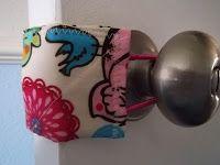 Door Snuggler Pattern Tutorial - quiets the door for baby's room