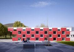 Salmtal Secondary School Canteen by SpreierTrenner Architekten